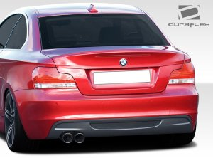 Extreme Dimension Duraflex M Sport Look Rear Bumper BMW E82 E88 135i 128i 2010 - 2013