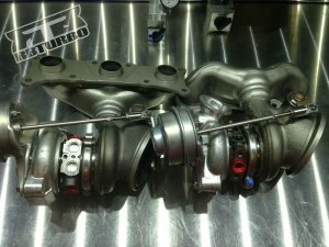 RB Upgraded Twin Turbos BMW 135i N54 2008 - 2010 (with core charge)