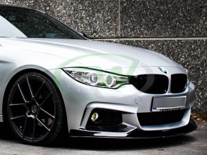 RW Carbon BMW F32 Performance Style Carbon Fiber Front Lip