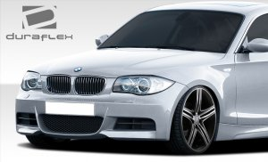 Extreme Dimension Duraflex M-Tech Look Front Bumper BMW E82 E88 135i 128i 2010 - 2013
