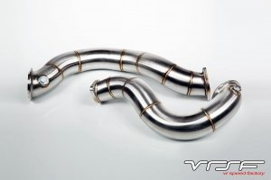 "VRSF 3"" Cast Stainless Steel Downpipes BMW N54 E90, E82 E91 E92 E93"