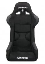 Corbeau FX1 PRO Fixed Back Seat in Black Microsuede