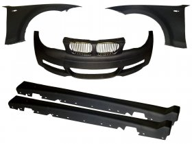Evolution Racewerks Carbon Front End Widebody Kit 135i 128i
