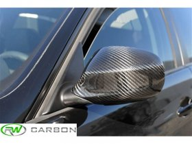 RW Carbon BMW E90 E91 LCI Dry Carbon Fiber Mirror Covers
