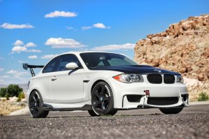 N5TUNER BMW E82 E88 1M Style Front Bumper with Airducts