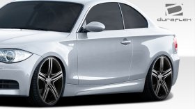 Extreme Dimension Duraflex M-Tech Look Side Skirts BMW E82 E88 135i 128i 2010 - 2013