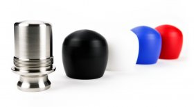Raceseng SLAMMOLOGY DELRIN COVER Shift Knob wtih BMW Adapter