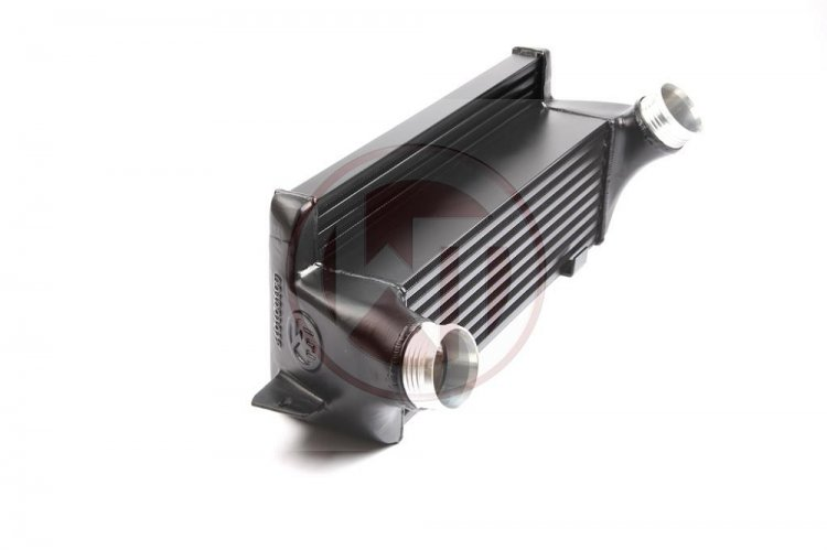 Wagner EVO 1 TUBE & FIN COMPETITION INTERCOOLER KIT BMW E82 E90 - Click Image to Close