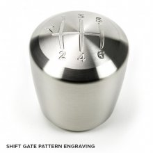 Raceseng ASHIKO Shift Knob With Shift Pattern with BMW Adapter