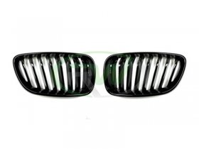RW Gloss Black Grilles BMW F22 2 Series 228i M235i