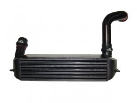 Evolution Racewerks N54 Competition Series Black Anodized Front Mount Intercooler