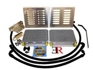 Evolution Racewerks N54 Competition Series Oil Cooler Upgrade Kit