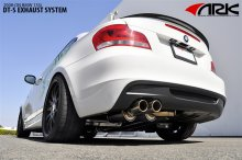 ARK DT-S Exhaust System BMW 135I 2008 - 2012
