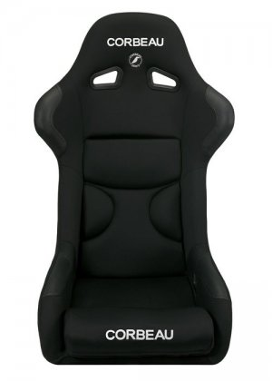 Corbeau FX1 Fixed Back Seat in Black CLOTH
