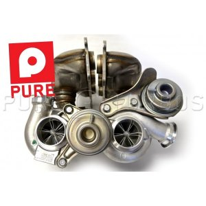Pure N54 Stage 2 Turbos including core charge BMW 135i 1M 2008 - 2010