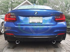 RW Carbon Exotics Tuning Style CF Diffuser BMW F22 2 Series 228i M235i