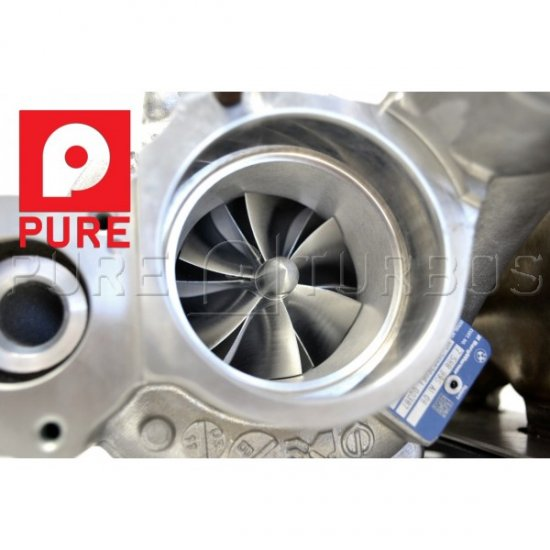 Pure Turbos High Flow Inlet Pipe N55 BMW 135i 335i - Click Image to Close