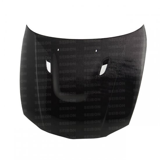 Seibon BM style carbon fiber hood for 2008 - 2012 BMW E82 - Click Image to Close