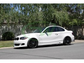 RW Carbon Performance Style Side Skirts BMW E82 E88 135i 128i 1 Series