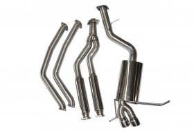 Berk Downpipe Back Polished Street Exhaust BMW 135I N54 N55