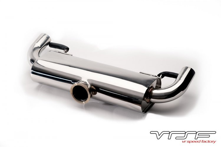 VRSF Street Stainless Steel Catback Exhaust 07-12 BMW 335i 335xi - Click Image to Close