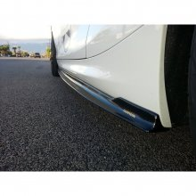 DINMANN BMW F22 2 SERIES CARBON FIBER SIDE SKIRTS EXTENSIONS