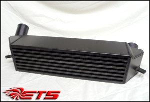 "ETS 7"" Anodized Intercooler Upgrade Kit BMW 335i N54 N55 2007-2012"