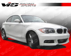 Vis Racing R Tech Side Skirts 2008-2012 Bmw 1 Series E82 2Dr