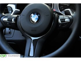 RW Carbon BMW Carbon Fiber Steering Wheel Trim M-Sport