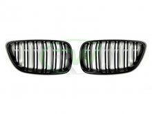 RW Double Slat Gloss Black Grilles BMW F22 2 Series 228i M235i
