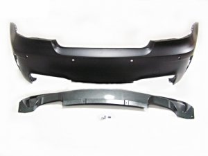 N5Tuner BMW E82 1M STYLE REAR BUMPER with PDC
