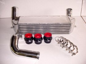 Evolution Racewerks N54 Competition Series Polished Front Mount Intercooler