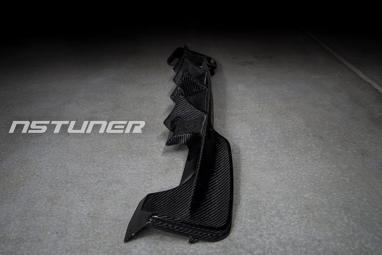 N5TUNER QUAD TIP DIFFUSER WITH INTERCHANGEABLE FINS 1M 1 SERIES E82 - Click Image to Close