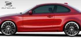 Extreme Dimension Duraflex M Sport Look Side Skirts BMW E82 E88 135i 128i 2010 - 2013