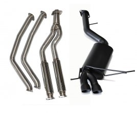 Berk Downpipe Back Ceramic Coated Street Exhaust BMW 135I N54 N55