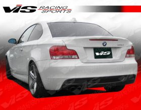 Vis Racing M Tech Rear Bumper 2008-2012 Bmw 1 Series E82 2Dr