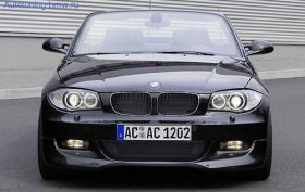 AC Schnitzer Front Lip 135i with Standard Bumper