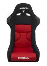 Corbeau FX1 Fixed Back Seat in Red Black CLOTH