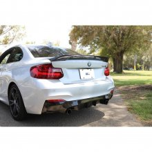 DINMANN BMW F22 2 SERIES CARBON FIBER TRUNK LIP