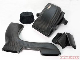 ARMASpeed Hyper Flow Carbon Fiber Intake Kit Non-Variable Gloss or Matte Finish BMW 135i E8X N54B30 08-10