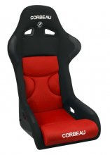 Corbeau FX1 PRO Fixed Back Seat in Red Black CLOTH