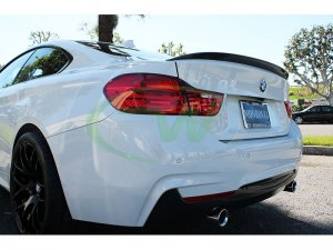 RW Carbon BMW F32 Perf. Style Carbon Fiber Trunk Spoiler