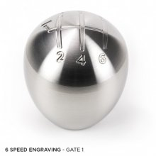 Raceseng SLAMMER Shift Knob WITH SHIFT PATTERN wtih BMW Adapter