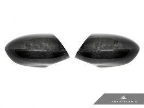 AUTOTECKNIC CARBON FIBER REPLACEMENT MIRROR COVERS - E90| E92| E93 M3 AND E82 1M
