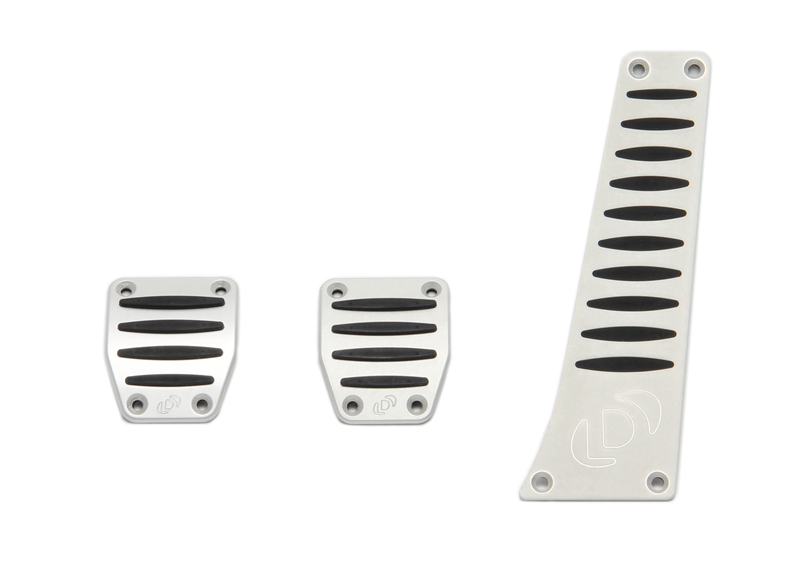 Dinan Pedal Cover Set for BMW with Manual Transmission