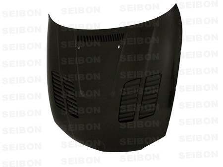 Seibon GTR style carbon fiber hood for 2008 - 2012 BMW E82 - Click Image to Close