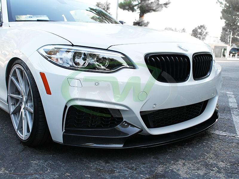 55cf546a11a RW Carbon BMW F22 Performance Style Carbon Fiber Front Lip 228i M235i 2014  - 2016