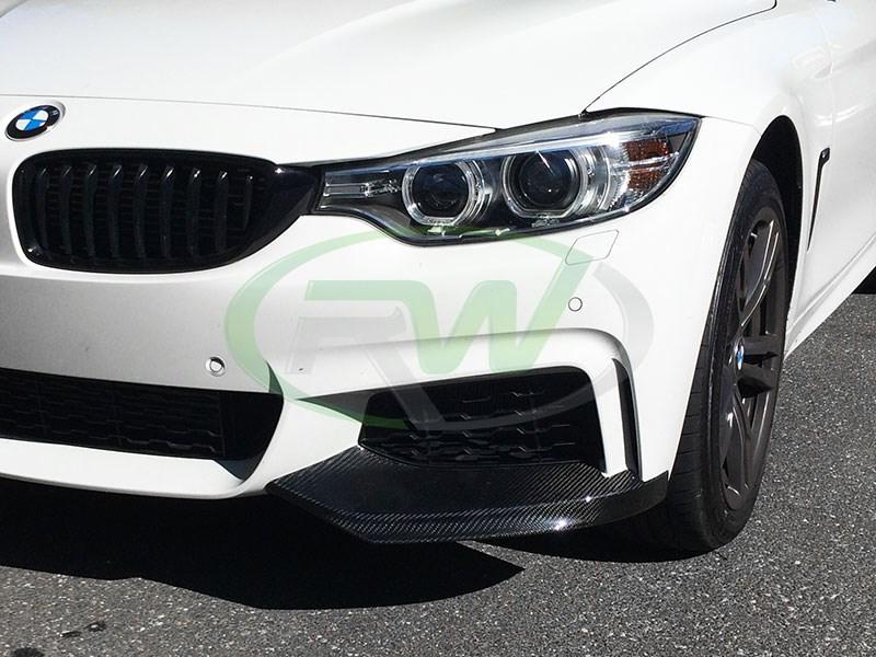52f38783339 RW Carbon BMW F32 F33 Performance Style Carbon Fiber Splitters ...