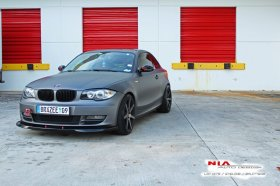 NIA Body Kits Front Lip BMW 128i 2007 - 2011 Front Lip - Painted