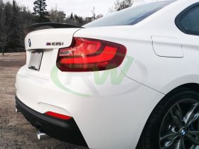 RW Carbon Performance Style CF Trunk Spoiler BMW F22 2 Series 228i M235i